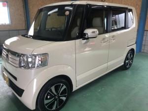 ホンダN-BOX 経年車