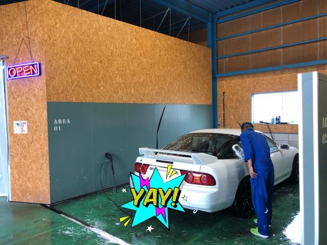 洗車 場 付き 屋根