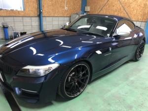 BMWZ4 経年車